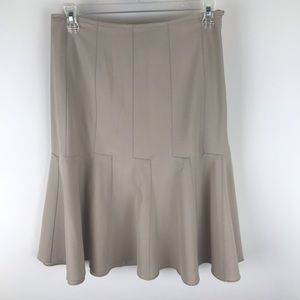 Worth 2 Wool Blend Fit And Flare Work Career Skirt